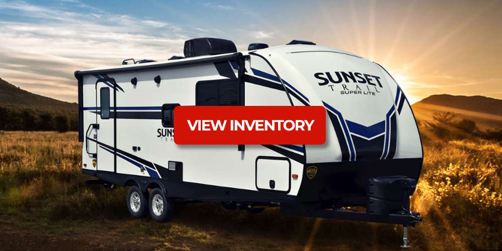 Save on Sunset Trail Travel Trailers